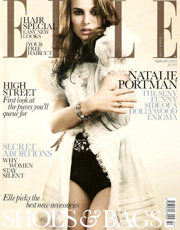 Natalie Portman photographed by David Slijper for Elle U.K., February 2010 1