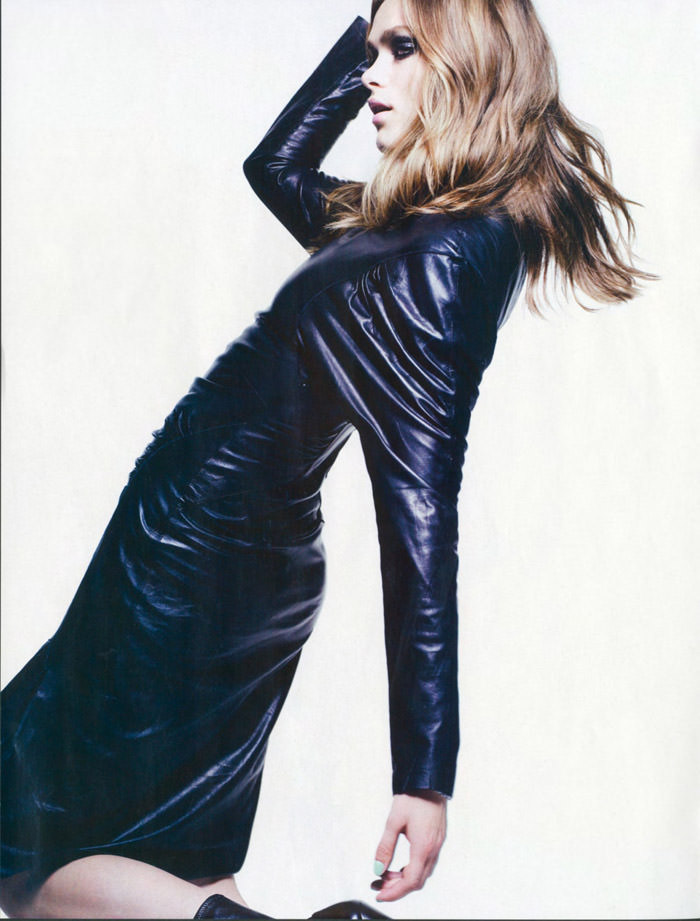 """Sophie Vlaming photographed by Max Cardelli in """"Cat Woman"""" for Maire Claire Spain, January 2010 5"""