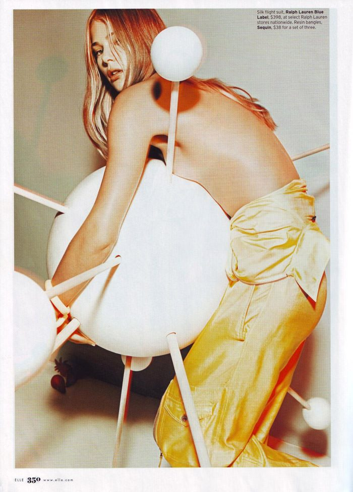 """Tori Praver photographed by Jacob Sutton in """"The Exhibitionist"""" for Elle, December 2009 6"""