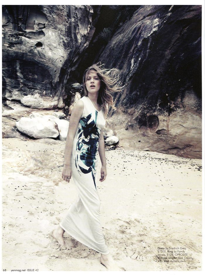 """Zippora Seven photographed by Holly Blake in """"Bay Bay, Baby"""" for Yen Magazine, Issue 42 4"""