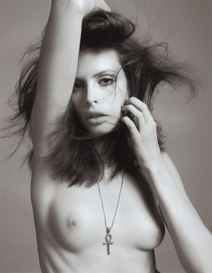"""Charlotte Kemp Muhl photographed by David Roemer in """"Public Image"""" for S Magazine #10 4"""