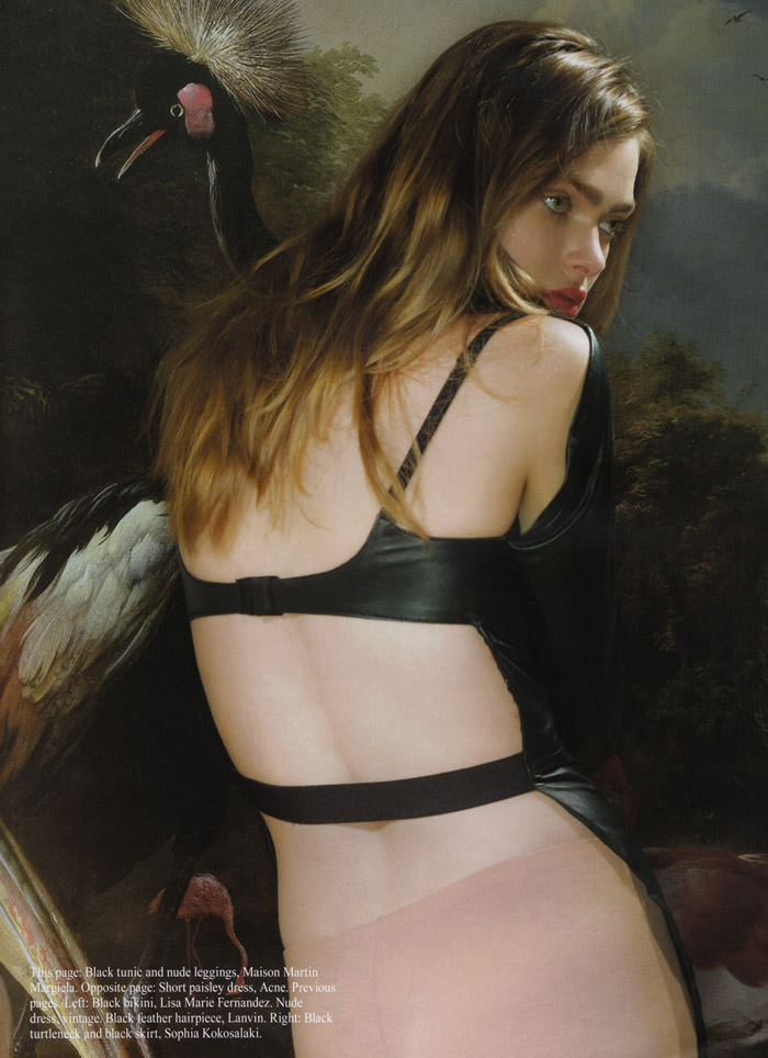 "Sophie Vlaming photographed by Anushka Blommers & Niels Schumm in ""Plums In The Icebox"" for Dossier Journal, Issue IV 4"
