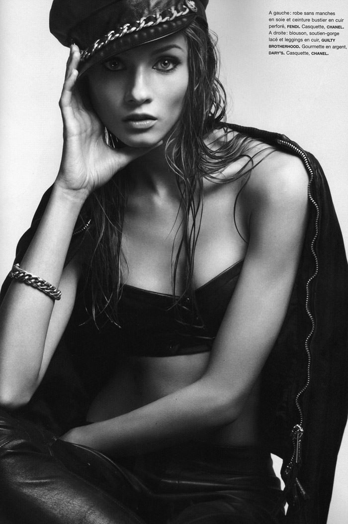 Anna Selezneva photographed by Camilla Akrans for Numéro #111 4