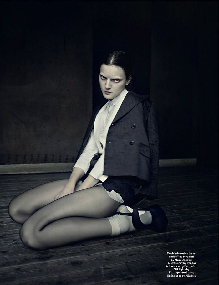 Guinevere van Seenus photographed by Paolo Roversi for AnOther Magazine, Spring 2010 6
