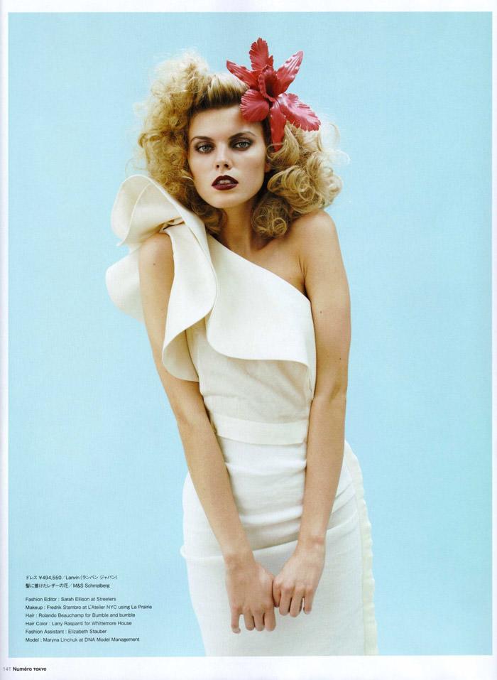 Maryna Linchuk photographed by David Vasiljevic for Numéro Tokyo #34, March 2010 14