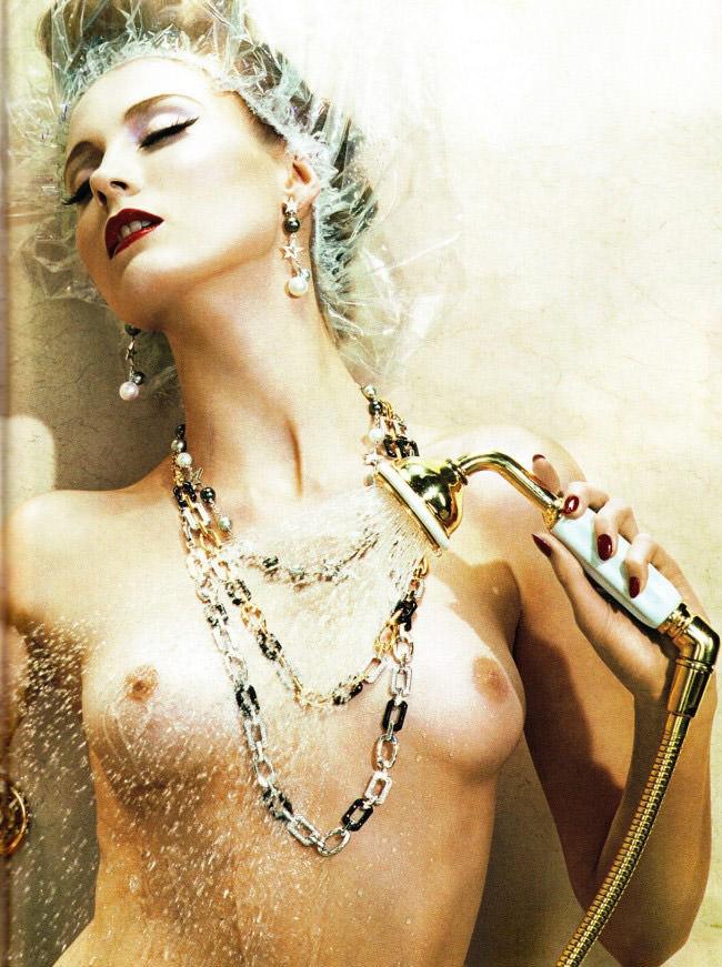 Charlotte Di Calypso photographed by Miles Aldridge for Vogue Italia, February 2010 4