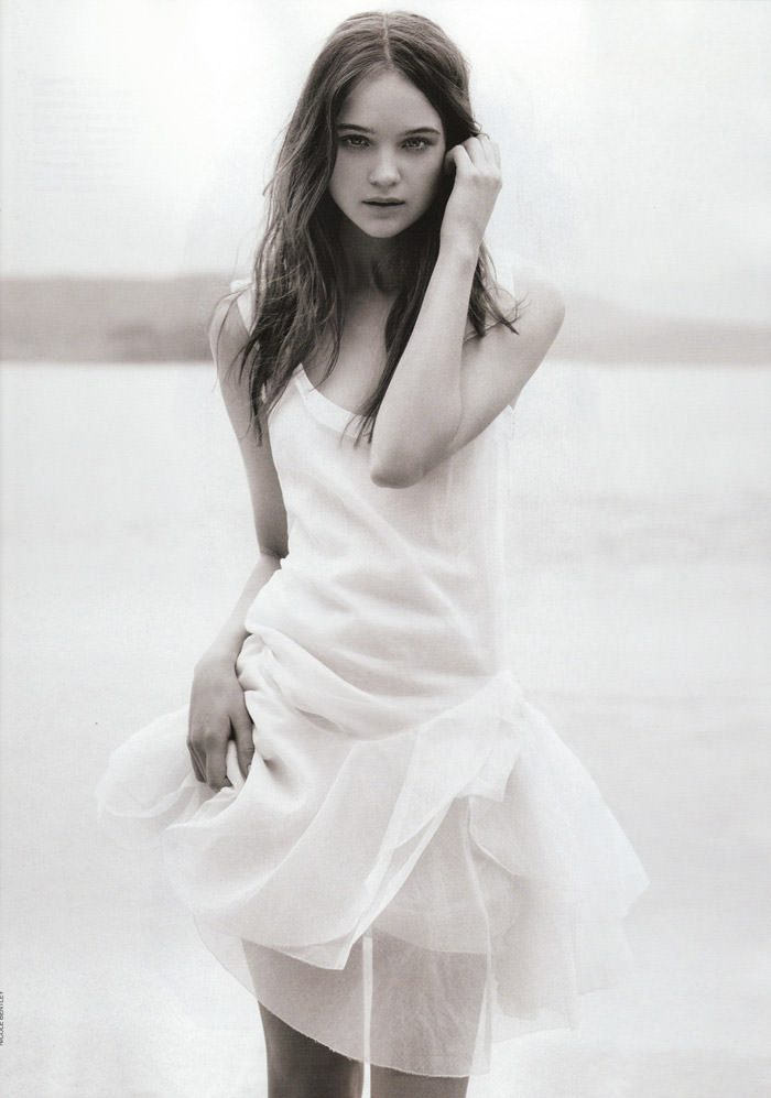 "Rosie Tupper photographed by Nicole Bentley in ""Soft Focus"" for Vogue Australia, April 2010 6"