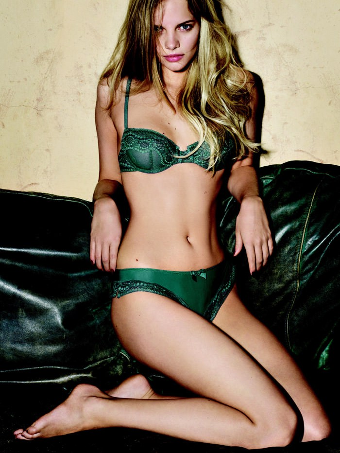 Marloes Horst for Princesse Tam Lingerie, Spring & Summer 2010 10