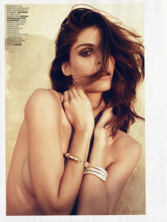 "Elisa Sednaoui photographed by Laura Sciacovelli in ""Exotica"" for Maire Claire Italia, April 2010 11"