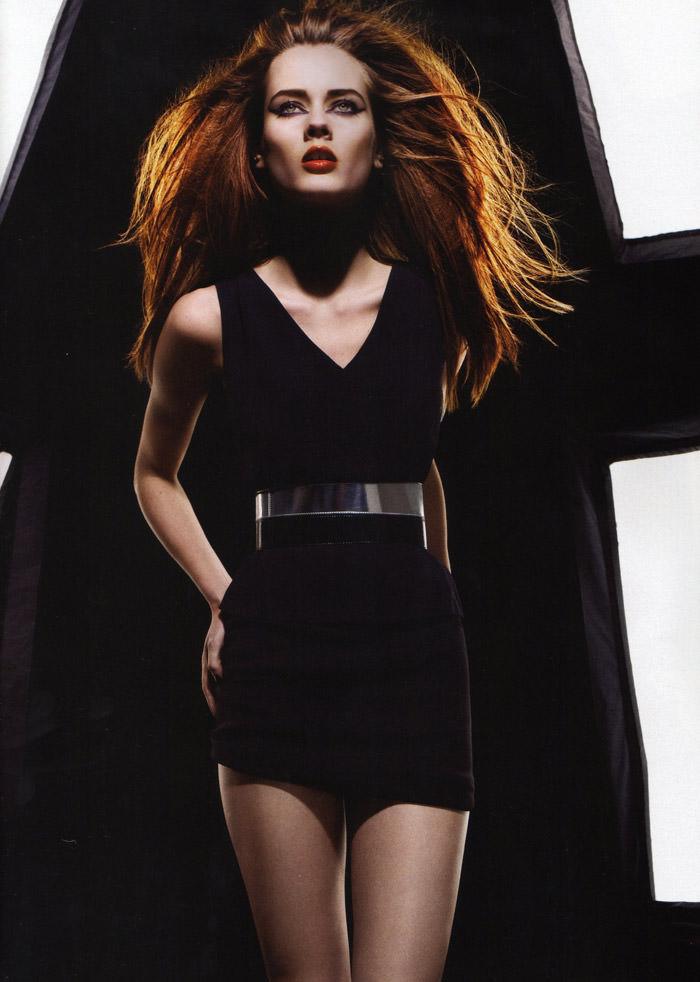 """Monika """"Jac"""" Jagaciak photographed by Miguel Reveriego in """"Et Je Te Veux Cruelle"""" for Numéro #111 6"""