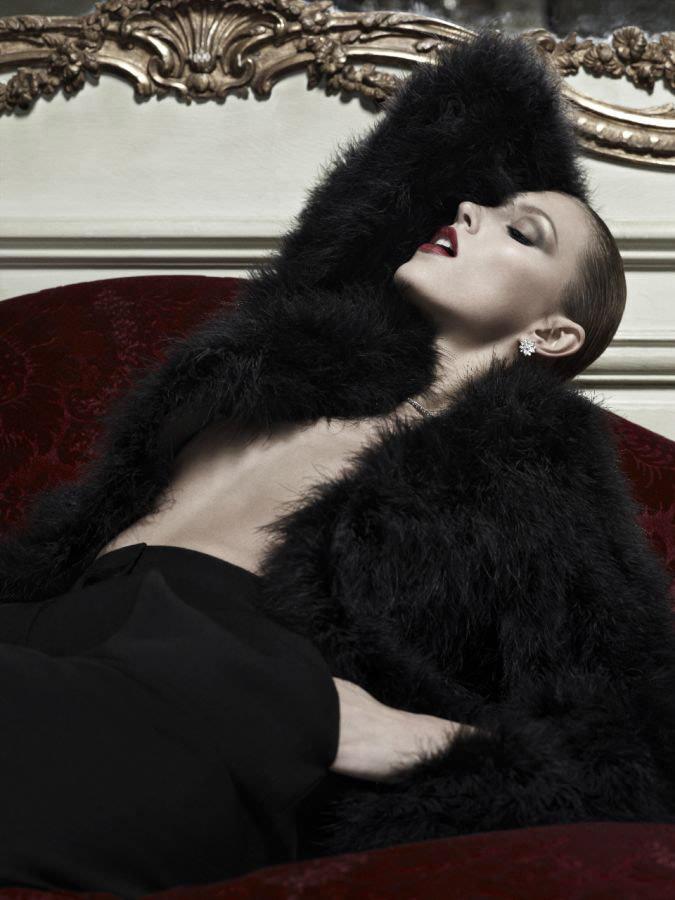 Anja Rubik photographed by Hedi Slimane for Vogue Paris, April 2010 7