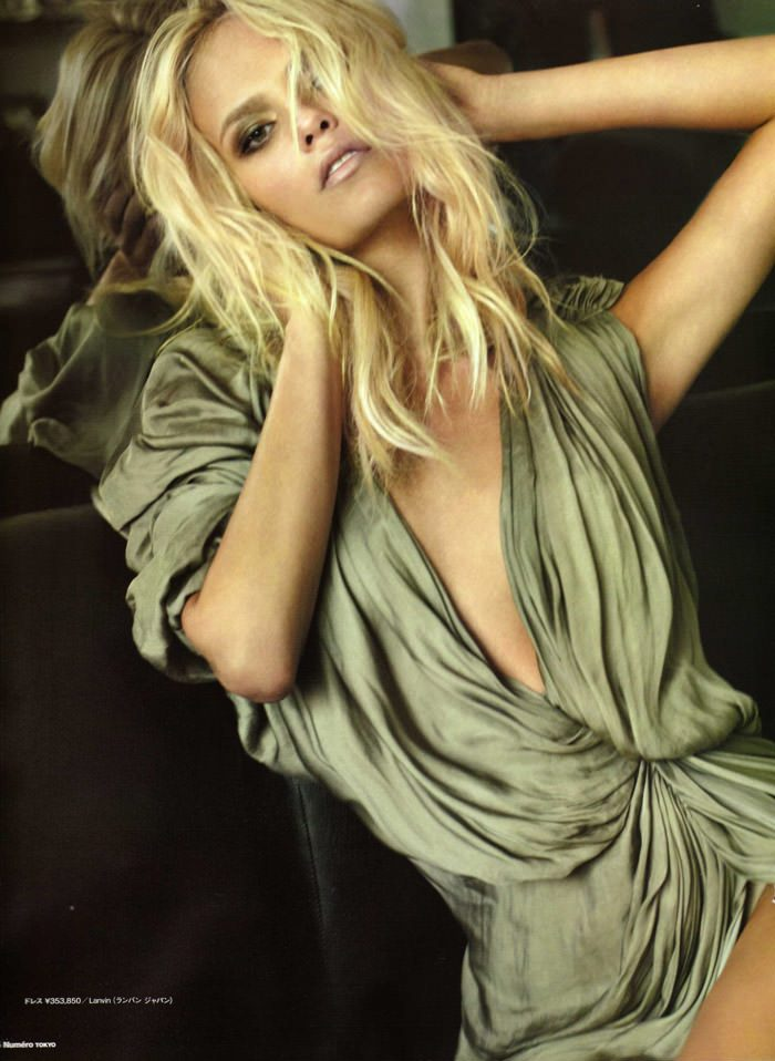 Natasha Poly photographed by Alex Cayley for Numéro Tokyo #35, March 2010 1