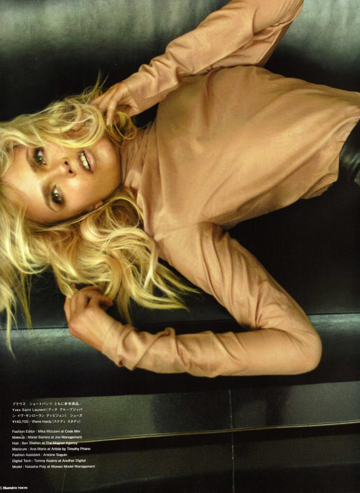 Natasha Poly photographed by Alex Cayley for Numéro Tokyo #35, March 2010 8