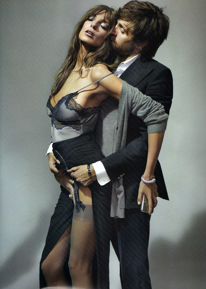 "Daria Werbowy and Francesco Vezzoli photographed by Mario Testino in ""La Décadanse"" for Vogue Paris, May 2010 2"