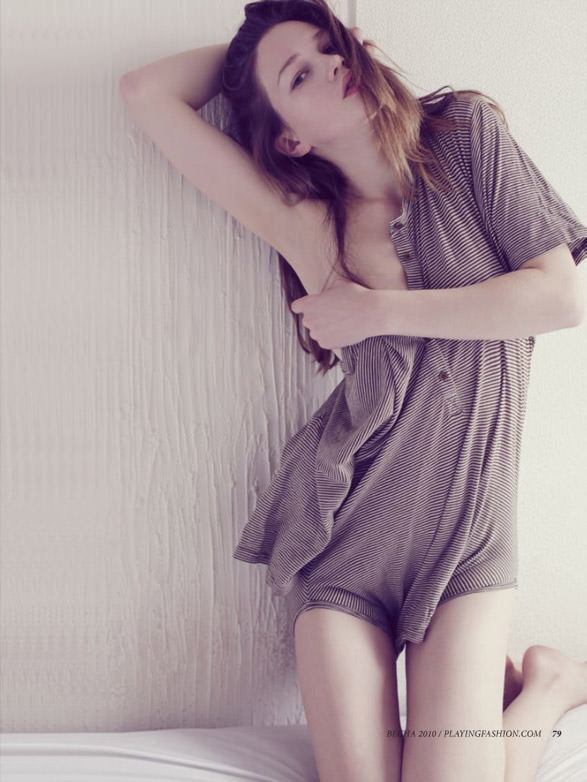 "Elena Lemkova photographed by Nicole Demeshik in ""Без названия"" for Playing Fashion #16, Spring 2010 4"