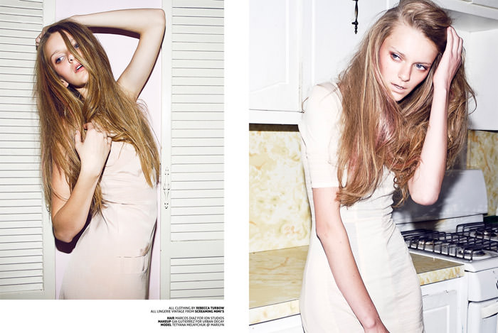 """Tetyana Melnychuk photographed by Marley Kate in """"Getting Lost"""" for The Ones 2 Watch 5"""