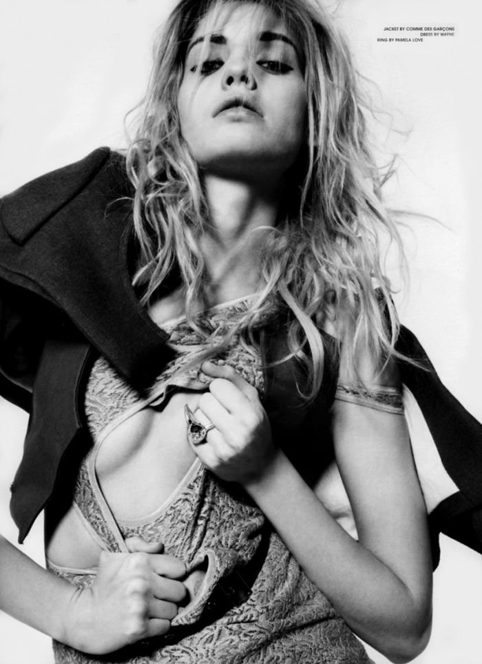 "Heidi Mount photographed by Dan Martensen in ""Miss World"" for Dansk Magazine, Spring 2010 8"