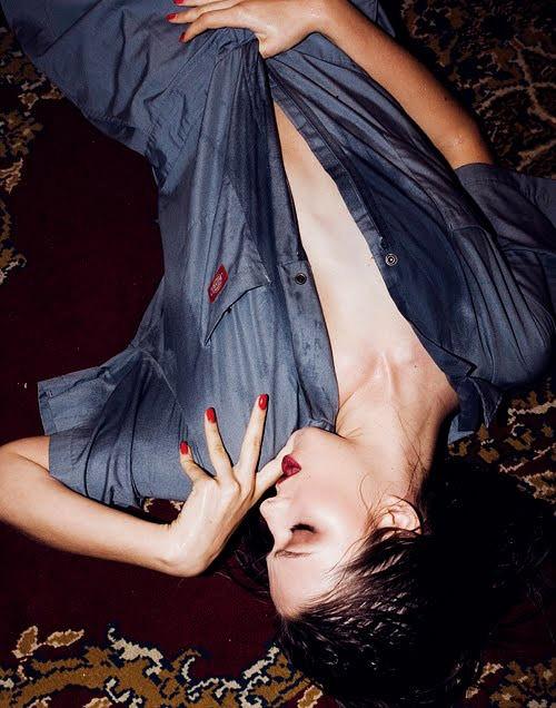 Nathalie Edenburg photographed by Michael Donovan, April 2010 4