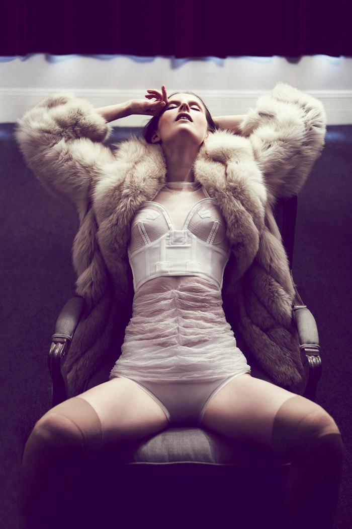 "Rebecca Chandler photographed by Robert Harper in ""Tie Me Up, Tie Me Down"" for ThePop.com 2"