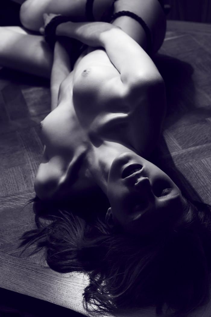 "Rebecca Chandler photographed by Robert Harper in ""Tie Me Up, Tie Me Down"" for ThePop.com 5"