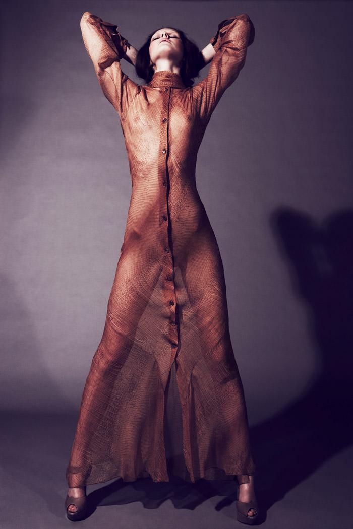 "Rebecca Chandler photographed by Robert Harper in ""Tie Me Up, Tie Me Down"" for ThePop.com 8"