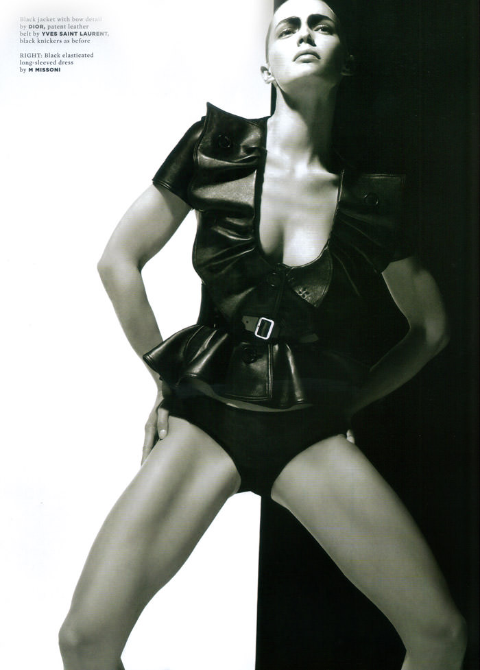 "Heidi Harrington Johnson photographed by Cuneyt Akeroglu in ""Lick Your Tongue"" for Wonderland Magazine, May 2010 4"