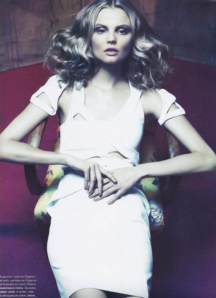 "Magdalena Frackowiak photographed by Chad Pitman in ""Frisson"" for Numéro #114, June / July 2010 9"