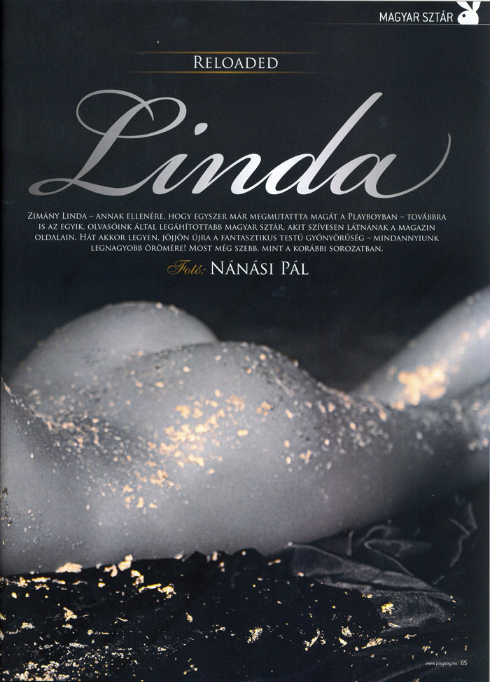 Linda Zimány in Playboy Hungary, May 2010 2