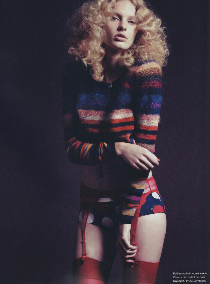 """Patricia Van Der Vliet photographed by Lachlan Bailey in """"Daydream"""" for Numéro #114, June / July 2010 2"""