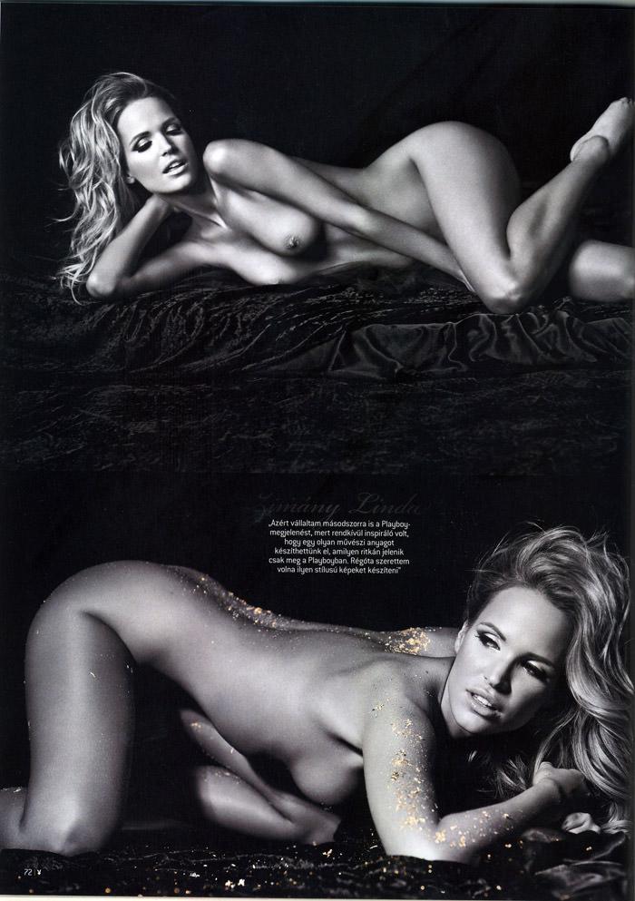 Linda Zimány in Playboy Hungary, May 2010 10