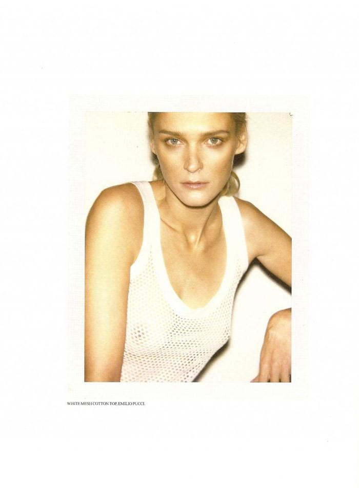 Carmen Kass photographed by Ezra Petronio for Self Service, Spring 2010 5