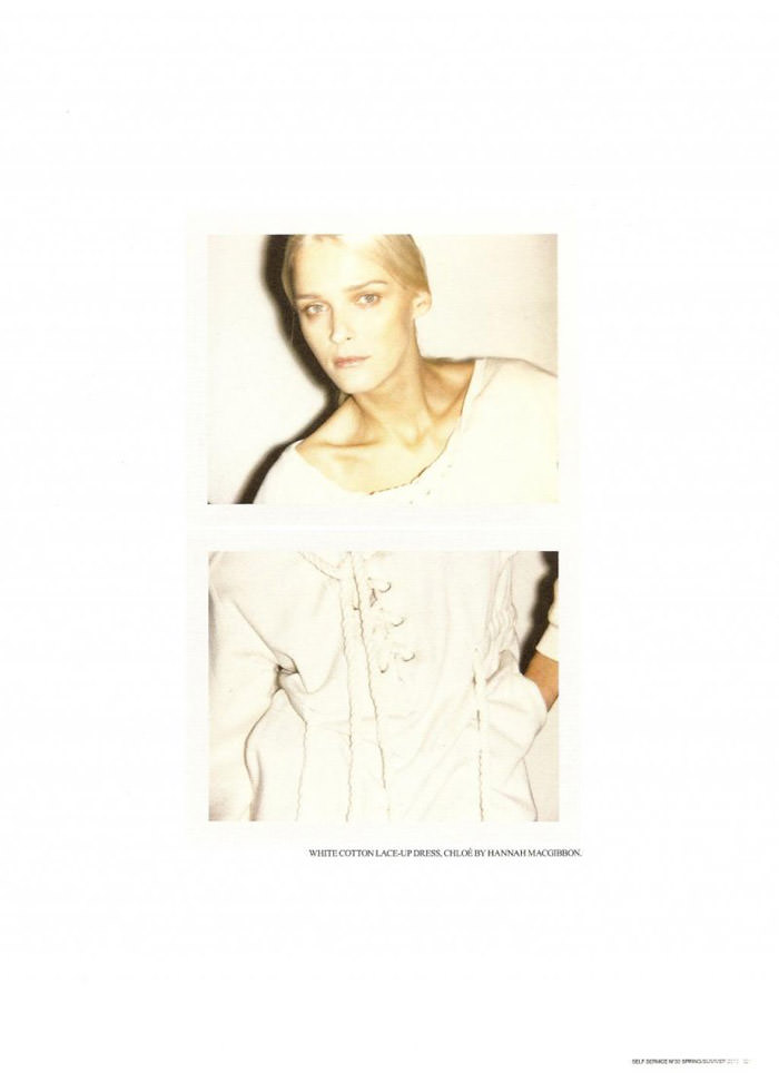Carmen Kass photographed by Ezra Petronio for Self Service, Spring 2010 9