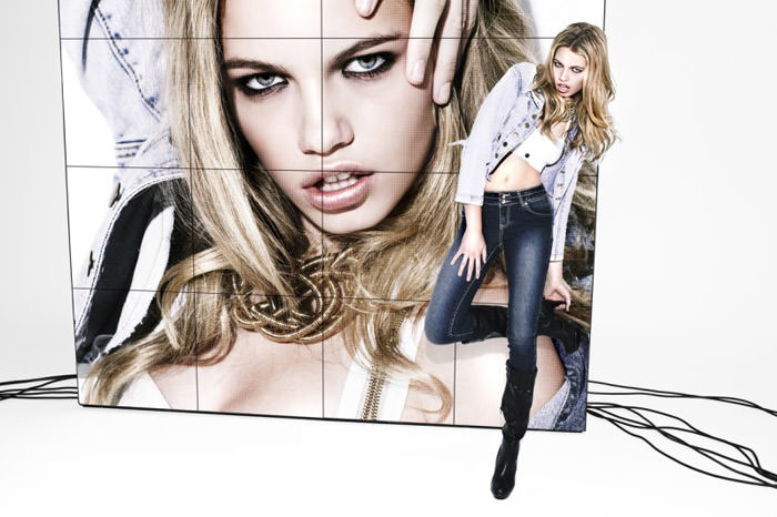 Hailey Clauson photographed by David Roemer for Jag Jeans, 2010 1