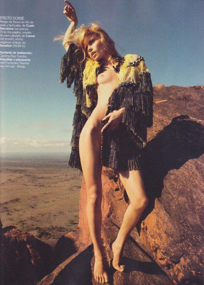 Masha Novoselova photographed by James Macari for Vogue España, June 2010 8