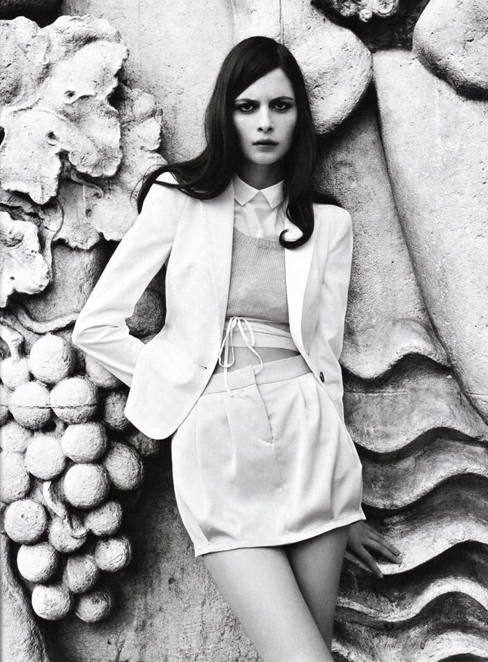 "Suzie Bird photographed by Eric Nehr in ""Corto"" for Amica Italia, July 2010 11"