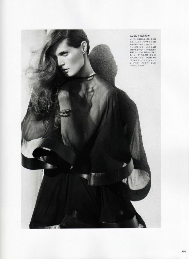 Malgosia Bela photographed by Cedric Buchet for Vogue Nippon, July 2010 7