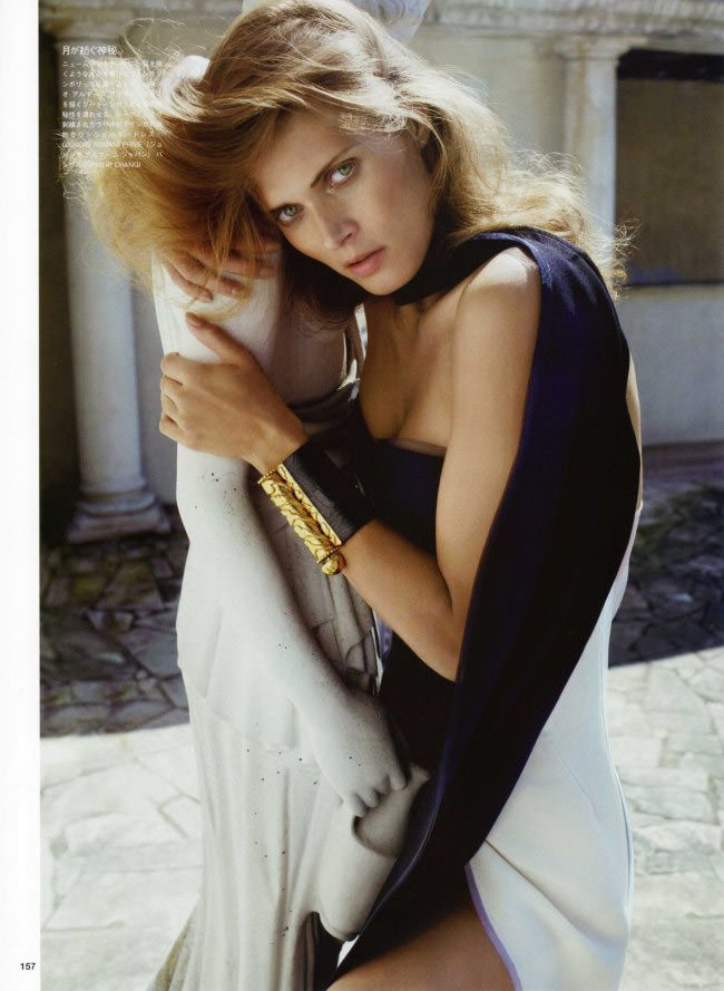 Malgosia Bela photographed by Cedric Buchet for Vogue Nippon, July 2010 8
