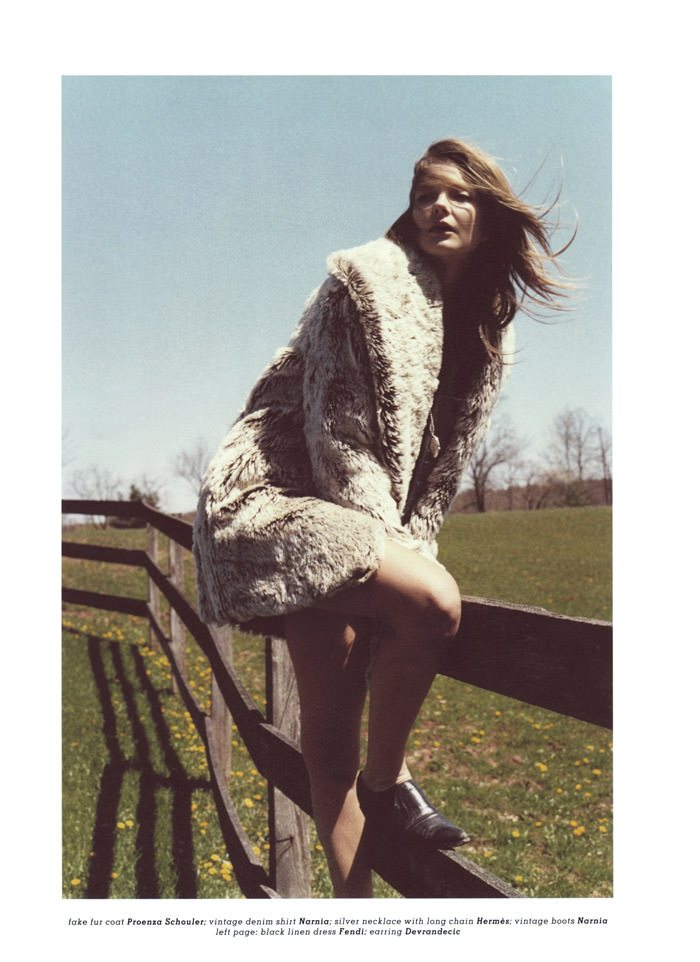 "Enikő Mihalik photographed by Max Farago in ""Afternoon Stroll"" for Muse #22, Summer 2010 9"