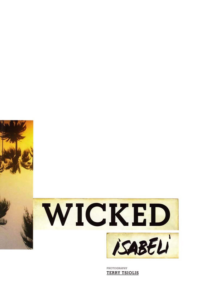 """Isabeli Fontana photographed by Terry Tsiolis in """"Wicked Isabeli"""" for Muse, Summer 2010 1"""