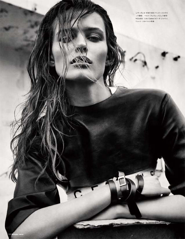 """Edita Vilkeviciute photographed by Sebastian Kim in """"Heat It Up!"""" for Numéro Tokyo, July / August 2010 8"""
