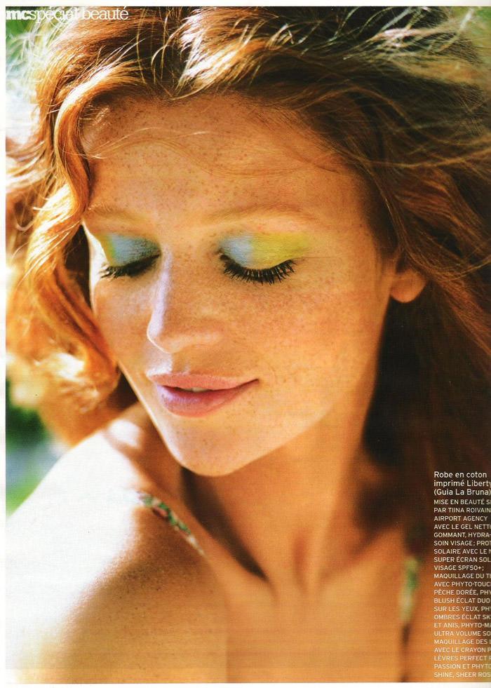 """Cintia Dicker photographed by Emmanuelle Hauguel in """"Nos Envies D'été"""" for Marie Claire France, August 2010 6"""