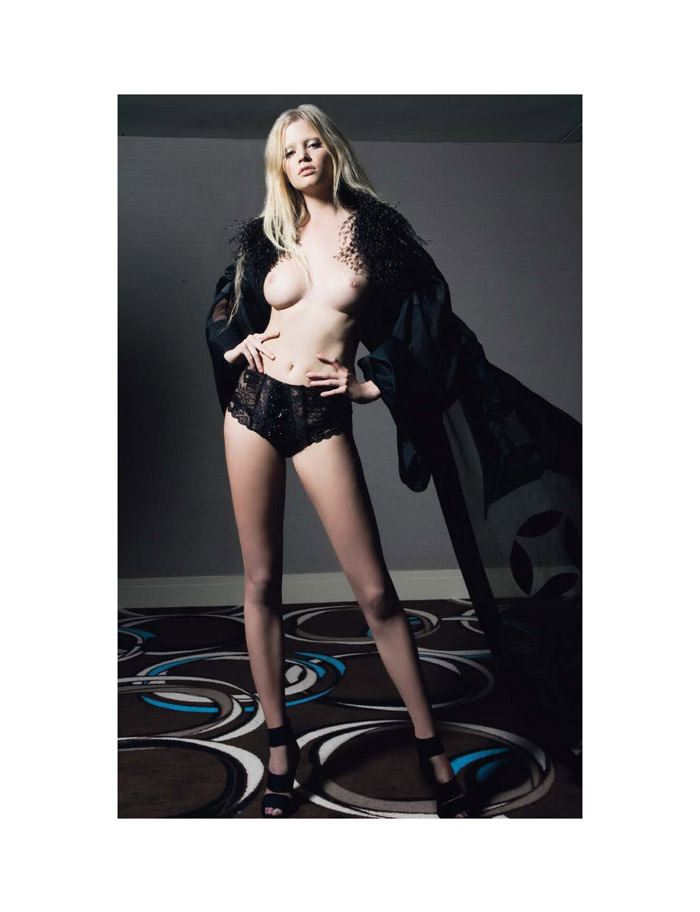 """Lara Stone photographed by Greg Lotus in """"Lara Stone est ma Drogue"""" for Playboy France, June 2010 8"""