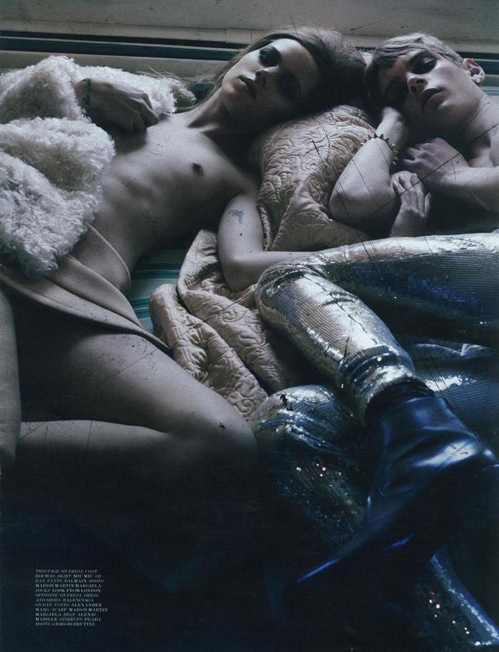 "Freja Beha Erichsen photographed by Craig McDean in ""Modern Love"" for Interview Magazine, August 2010 12"