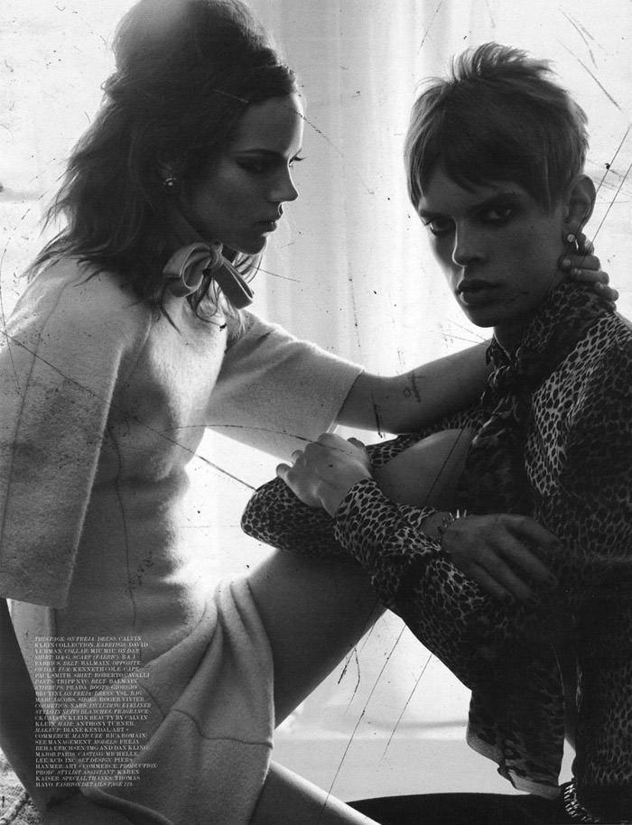 "Freja Beha Erichsen photographed by Craig McDean in ""Modern Love"" for Interview Magazine, August 2010 13"