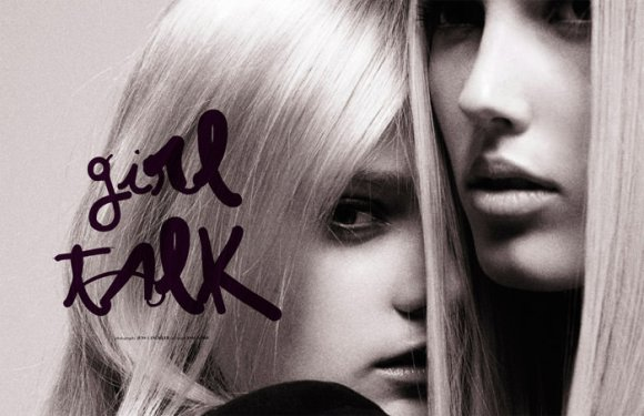 """""""Girl Talk"""" photographed by Jens Langkjær for The Ones 2 Watch 1"""