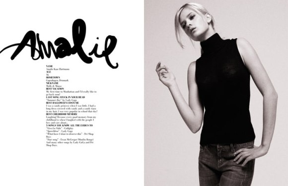 """""""Girl Talk"""" photographed by Jens Langkjær for The Ones 2 Watch 6"""
