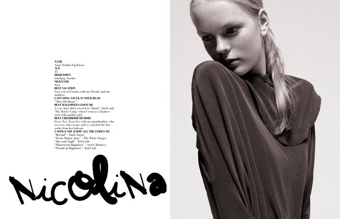 """""""Girl Talk"""" photographed by Jens Langkjær for The Ones 2 Watch 8"""