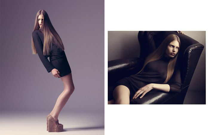 "Maja Krag photographed by Isa Jacob in ""Hiya Maja"" for The Ones 2 Watch 3"