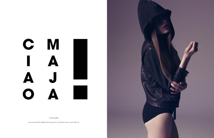 "Maja Krag photographed by Isa Jacob in ""Hiya Maja"" for The Ones 2 Watch 7"