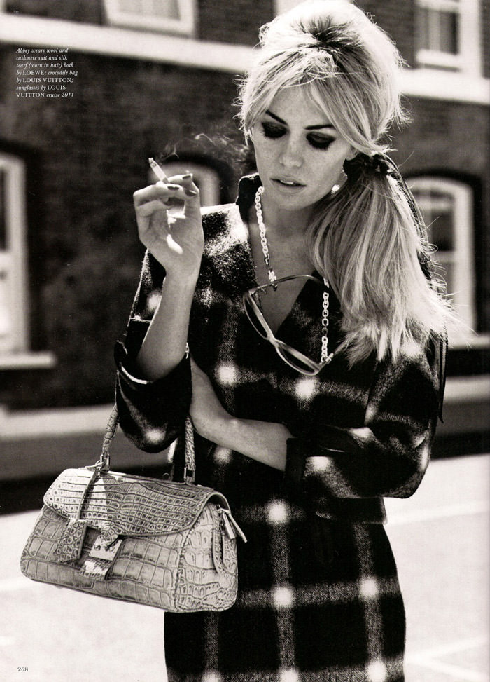 """Abbey Clancy photographed by Alasdair McLellan in """"A Bit Of Liverpool"""" for Love Magazine #4 4"""